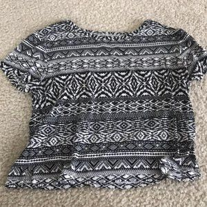 Soft AE Pattern Summer Top